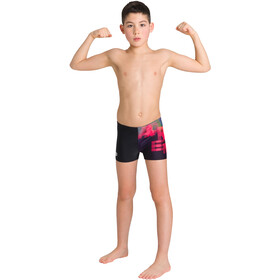 arena Highlight Shorts Niños, negro/rojo